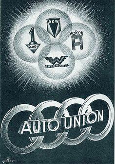 Auto Union Logo: Audi - Horch - DKW - Wanderer