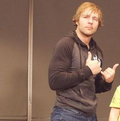 come dean ambrose should we talk forwhile and clear our minds and i can look in those sexy blue eyes of yours and i will listen to what  you say dean ambrose  anytime