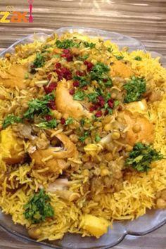 مجبوس الدجاج على الطريقة الخليجية وبالخطوات المصورة
