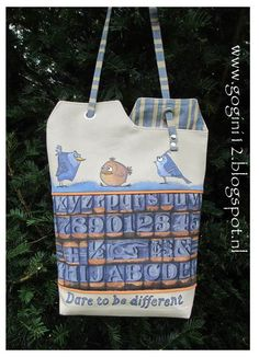 Free tutorial. This tote is made by GoGini Totes you can find us at www.gogini12.blogspot.nl and on facebook: GoGini Totes