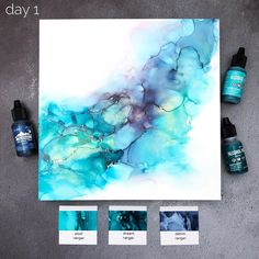 Alcohol Ink Painting, Alcohol Ink Art, Distress Ink, Prismacolor, Tim Holtz, Copic, Frost, Card Ideas, Abstract Art