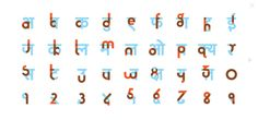The Hinglish project is an effort to make Devanagri script (used to write in Hindi) a bit more accessible to English speakers.