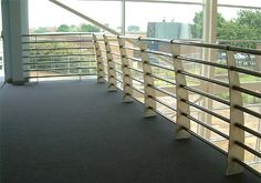 Our steel and aluminum balustrade can easily tailored to fit even the most difficult balcony and staircases applications. We provide all types of balustrades for domestic and commercial properties.