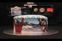 Lockbox wallet cake - Easter celebration by Lockbox_eu.