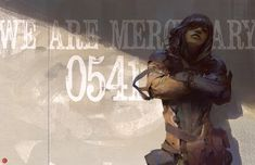 We Are Mercenary by Brandon Liao on ArtStation.