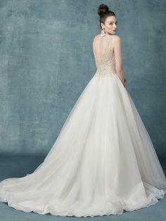 3dfedcc17cac Maggie Sottero Wedding Dress SophroniaMarie 9MS131MC back Princess Wedding  Dresses, Gown Wedding, Modest Wedding