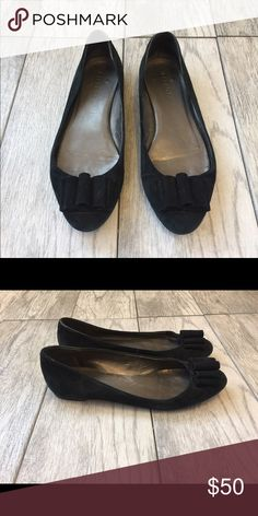 Talbots Flats Black suede Talbots flats. Talbots Shoes Flats & Loafers