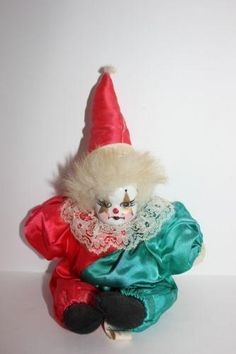 Shop by Category Circus Aesthetic, Cute Clown, Vintage Clown, Send In The Clowns, Clowning Around, Cute Plush, Man Humor, Some Fun, Baby Items