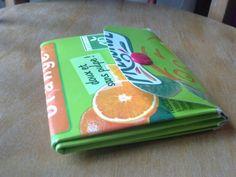 Un porte-monnaie en brique de lait ou jus de fruit,Depuis letemps que je cherchais ce tuto! Enfin!