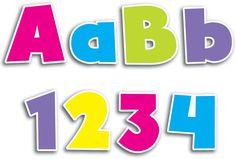 Bright 'n Bold Lettering | Alphabet Lettering
