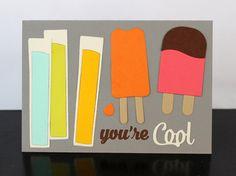 Paper Smooches Card by Kim Hughes
