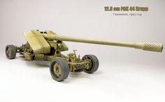 12,8 cm PAK 44 Krupp Great Wall Hobby 1:35