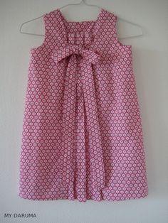 """day party dress"""" par Oliver + S  Tissu : Mondial tissu Villeurban [Mondial Tissus mood]  : Une jolie mini robe d'été avec des tissus """"maison"""" !"""