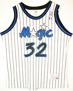 Champion NBA Basketball Orlando Magic #32 Shaquille O'Neal Trikot/Jersey Size 48 - Größe XL - 69,90€ #nba #basketball #trikot #jersey #ebay #etsy #hood #sport #fitness #fanartikel #merchandise #usa #america #fashion #mode #collectable #memorabilia #allbigeverything