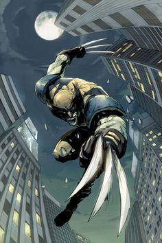 X-Men Unlimited Cover: Wolverine Fighting Marvel Comics Poster - 61 x 91 cm Marvel Wolverine, Marvel Dc Comics, Logan Wolverine, Marvel Heroes, Marvel Comic Character, Comic Book Characters, Comic Books Art, Comic Art, Book Art