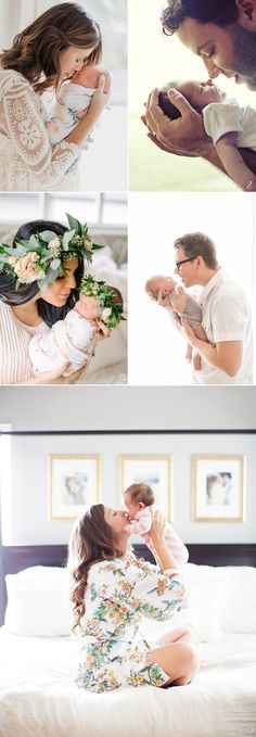 How to Pose Parents with Newborn Baby 6 Stress-Free Baby Photo Poses!