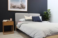 Camden Designer Bedside Table