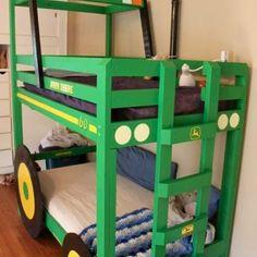 John Deere bunk bed