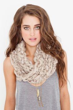 Mom, I want you to crochet me a scarf like this