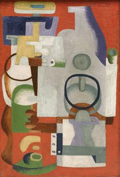 Le Corbusier (Charles-Édouard Jeanneret) - Abstract Composition, Oil on canvas. The Art Institute of Chicago. Le Corbusier, Abstract Expressionism, Abstract Art, Abstract Shapes, Auguste Herbin, Maurice Utrillo, Modern Art, Contemporary Art, Georges Braque