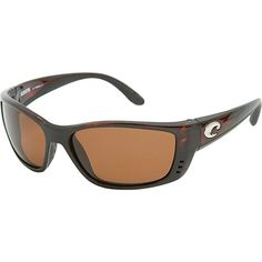 fc298b57af Costa Del Mar Fisch Sunglasses Black   Copper 580Glass Review