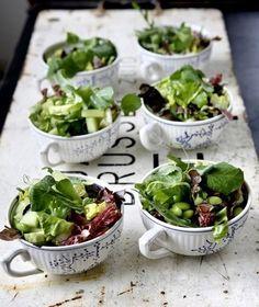 Buffet de casamento light salada