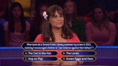 Monday, does contestant Allie Santiago know her #DrSeuss on an all-new #MillionaireTV? Most importantly, does she know which of his books someone tried to get banned? Do you have the correct #FinalAnswer? Don't miss Monday's show with host Terry Crews and find out if you and Allie are correct. Go to www.millionairetv.com for local time and channel to watch!