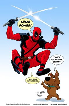 Deadpool vs Scrappy Doo - Axel Medellin
