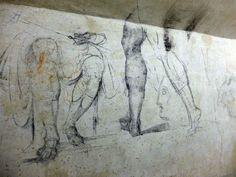 Desenhos de Michelangelo encontrados em sala secreta de capela dos Médicis na Basílica de São Lorenzo de Florença