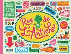 RUE DE L'ARTICHO collective book - cover by Chamo (publisher: Thierry Magnier- l'Articho)