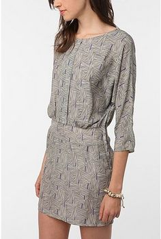 open back blouson dress. Silence and Noise via urbanoutfitters.com