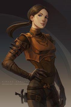 Female Character Design, Character Design Inspiration, Character Concept, Character Art, Concept Art, Character Ideas, Fantasy Warrior, Fantasy Rpg, Fantasy Artwork