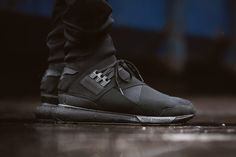 "adidas Y-3 Qasa High ""Triple Black"" - EU Kicks: Sneaker Magazine"