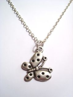 Silver Plated Butterfly