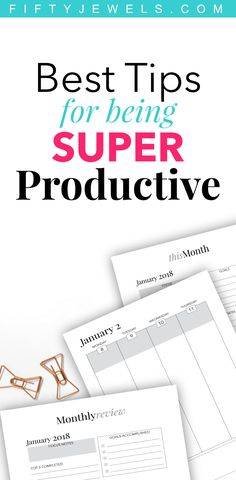Best Productivity Tips! Join the top, most productive people in the world and be happier than ever! Getting super productive is fun, easy and one of the best things you can do to increase the Happiness & Joy in your life! Click to get all the tips! #productive #productivity #planner #happiness #joy #productivitytips