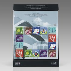 London 2012 Olympic Games - Isle Of Man Stamps By Paul Smith