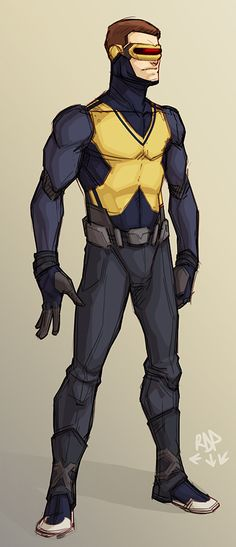 Cyclops Redesign by Richard Poihega
