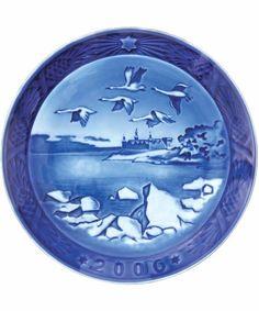 Royal Copenhagen 2006 Christmas Plate Kronborg Castle New in Box   eBay