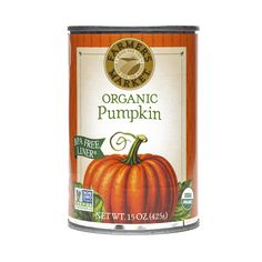 Shop Farmer's Market Foods Organic Pumpkin (2-pack) at wholesale price only at ThriveMarket.com