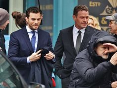 Jamie Dornan and Max Martini as Christian Grey and Jason Taylor on the set of Fifty Shades Darker and Freed http://www.everythingjamiedornan.com/gallery/displayimage.php?album=179&pid=22538#top_display_media http://www.facebook.com/everythingjamiedornan