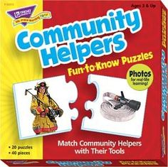 Amazon.com: Community Helpers Puzzles: Office Products