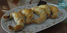 Croissants con chocolate | Cocinar en casa es facilisimo.com