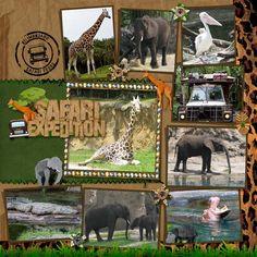 Disney Animal Kingdom {pinned by www.thedisneykids.com} #DisneyScrapbooking #DisneyScrapbook