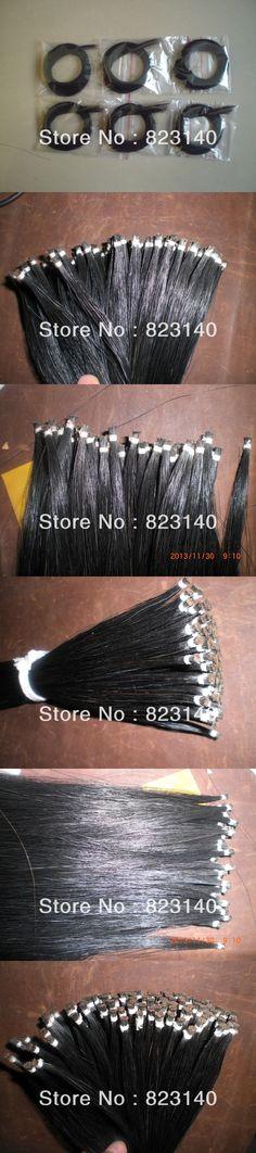 6 Hanks Black Violin Bow Hair 6 grams/hank High quality 32 inches