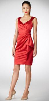 Maggy London Draped Cocktail Party Dress. #bestcocktaildress