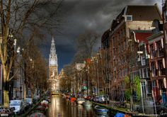 Amsterdam, Netherlands.  Can't wait for an Amsterdam trip.  Museums, food, biking the city (and perhaps the surrounding areas).