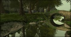 """Check outthe Second Life Pic of the Day,""""@Collin Sarvis Land""""byCharlie Namiboo."""