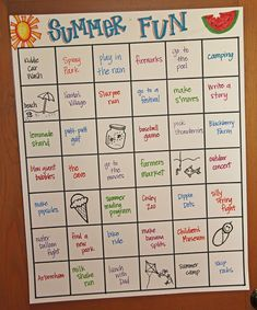 Sometimes Creative: Summer Bucket List