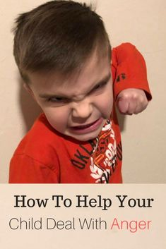 I have found some great ways to deal with my child's anger with this article.