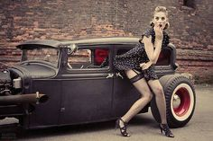 31 Best Kustom Kulture And Rockabilly Girls Images In 2014